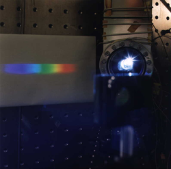 Light from the NIST SURF III Synchrotron Ultraviolet Radiation Facility