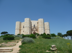 Castel del Monte, built by German Emperor Frederick II, UNESCO World Heritage site