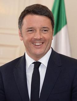 Matteo Renzi                                ,                                 Prime Minister                                since 2014.
