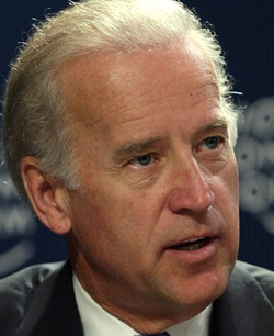Joe Biden at the World Economic Forum in Jordan in 2003