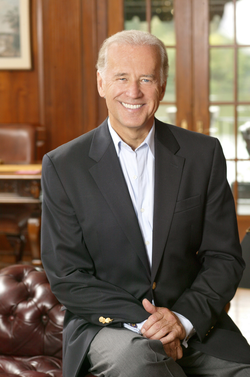 Biden's official Senate photo as of late 2006