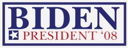Biden's 2008 campaign logo