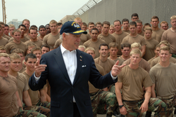 Biden speaks to Navy SEAL trainees, NAB Coronado, California, May 2009