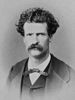 Twain in 1867