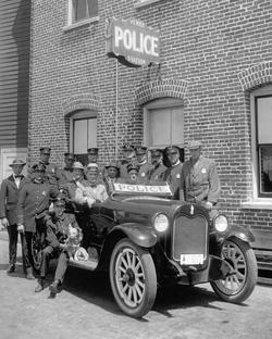 Venice Police Station in the 1920s