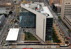 The New Police Administration Building opened in 2009