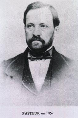 Pasteur in 1857