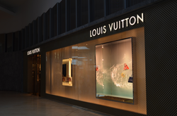 Louis Vuitton store in Toronto, Canada.