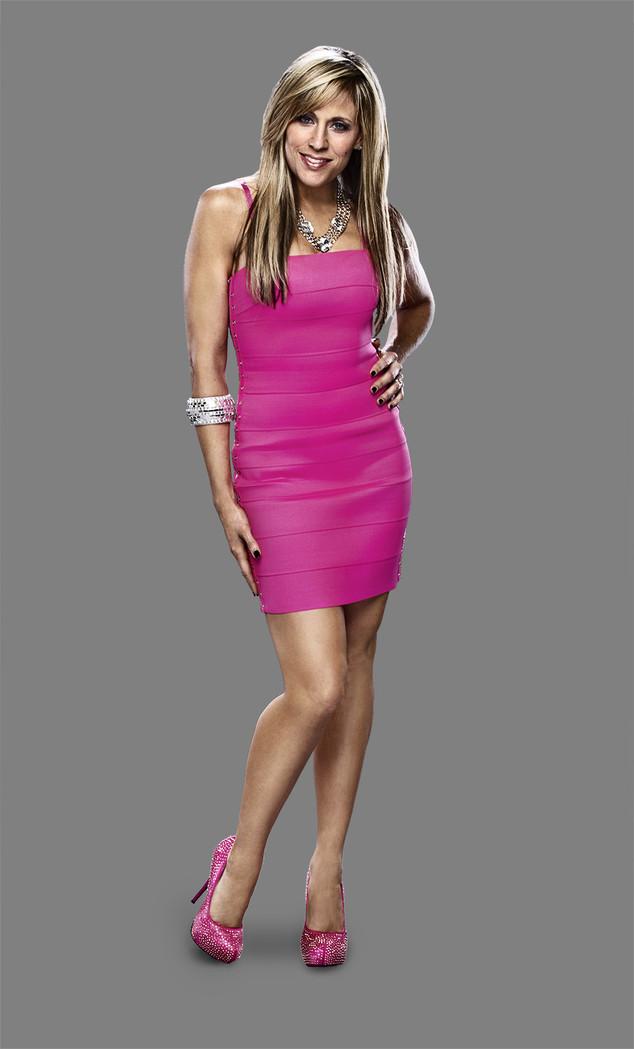 """""""Lilian Garcia in a pink dress"""""""