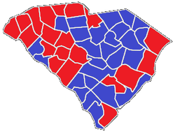 County-by-county results