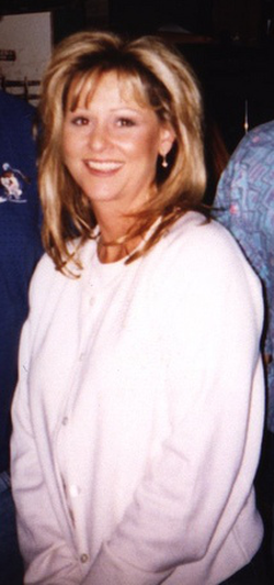 Miss Elizabeth in 1998 after a taping of WCW Monday Nitro
