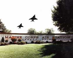 Linda McMahon's parents were both employees at nearby Marine Corps Air Station Cherry Point