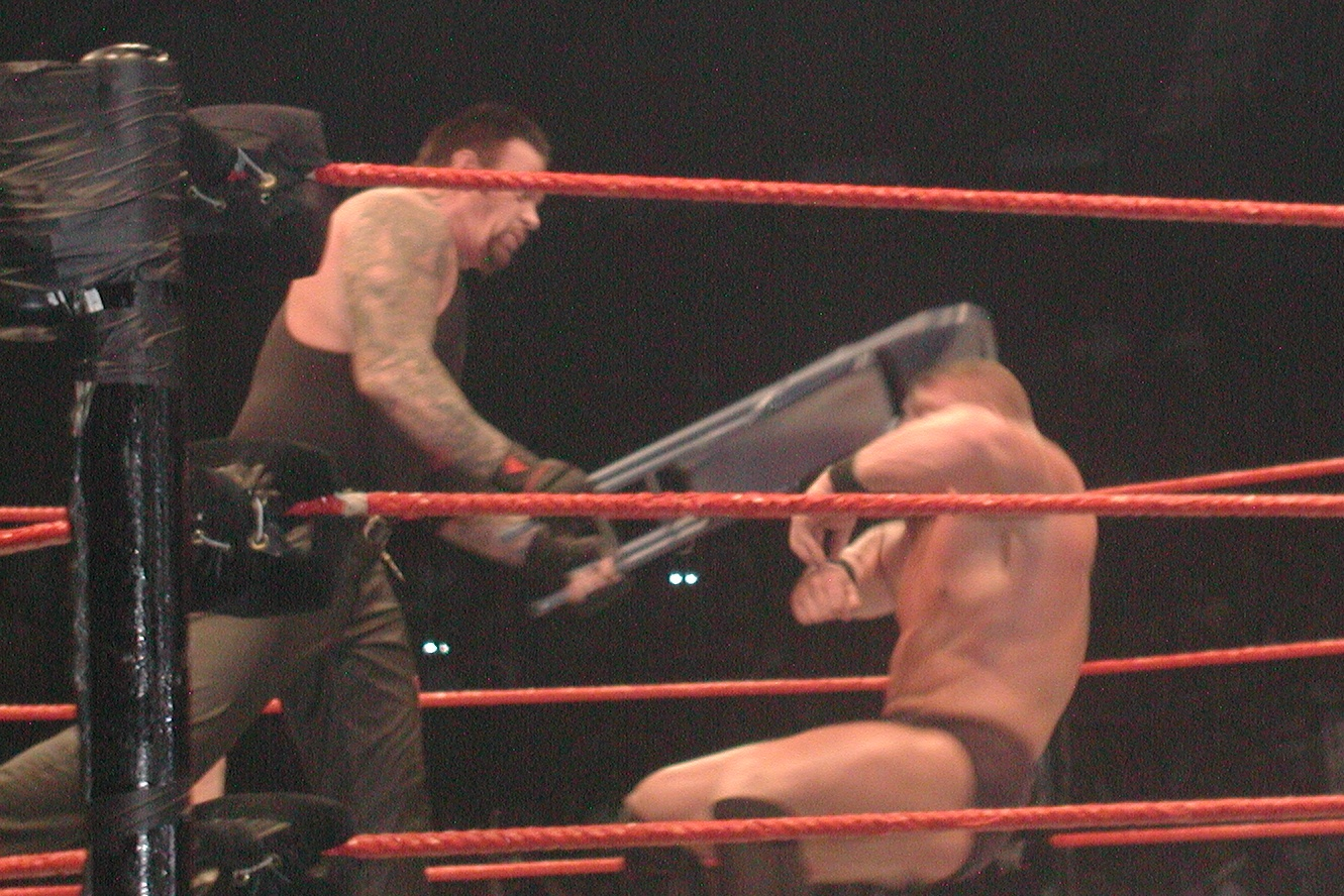Chair shots to the head were discontinued by the WWE as a result to prevent future concussions.