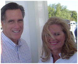 The Romneys on                                 Mackinac Island                                at the September 2007                                 Republican Leadership Conference