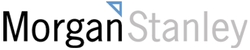 Historical logo used by Morgan Stanley in the early 2000s