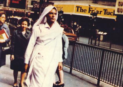 Gaddafi in Piccadilly, London, 1966
