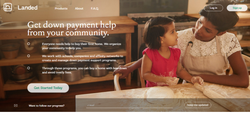 Landed Home Page (2016): Down Payment Help from your community