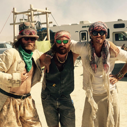 Edward at Burning Man. [1]