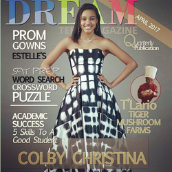 COLBY COVER DREAM TEEN MAGAZINE