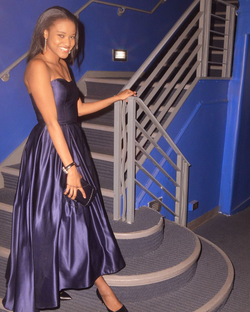 COLBY CHRISTINA AT THE 2016 AUDELCO AWARDS