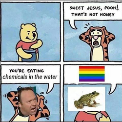 """Sweet Jesus, Pooh!"" image"