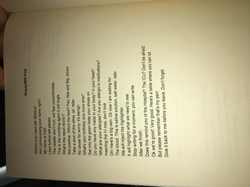 the last poem in the book