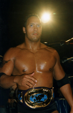 During the early stages of his career, The Rock became a two-time Intercontinental Champion.