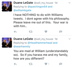 William's father's response part 1