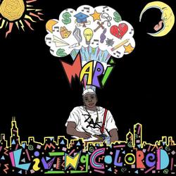 Living Colored EP Album Artwork
