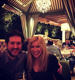 Photo of Sara Eisen and her husband Matthew Levine vacationing in Las Vegas​ [18]​