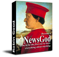 NewsGod. ebook cover by Robin Good, 2003.