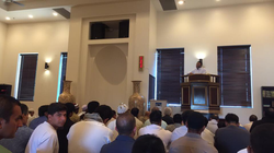 """Eid Khutbah by Dr. Aslam Abdulla"""
