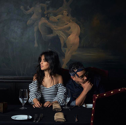 Camila Cabello with Rob Markman​ during her interview with Genius​ (circa September 2017)
