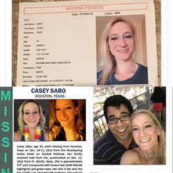 Poster made to help find Casey