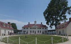 Washington expanded the estate at Mount Vernon after his marriage.
