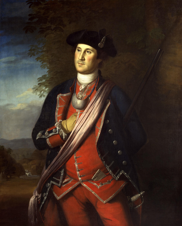 Washington at age 40, 1772