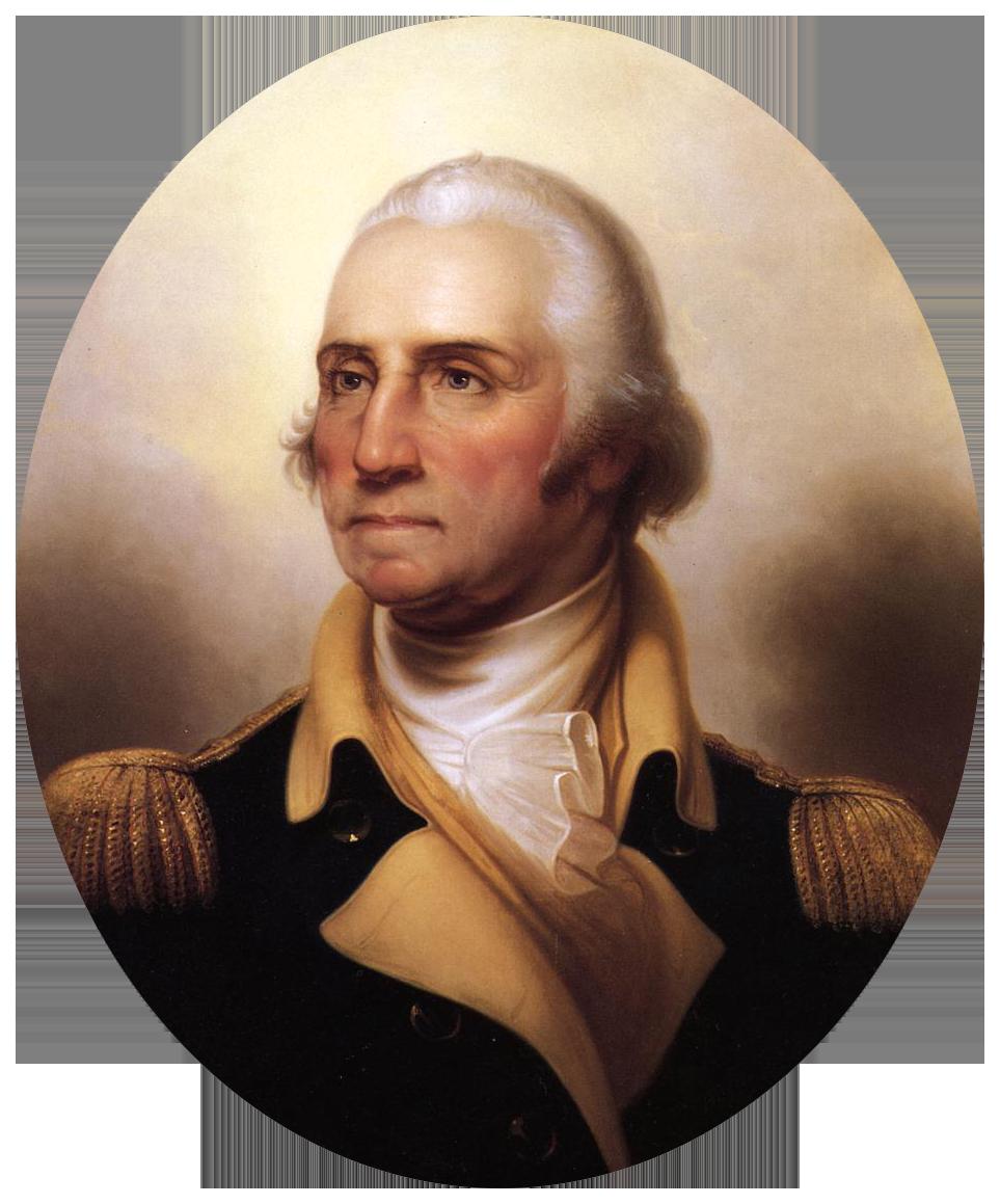 George Washington by Rembrandt Peale, De Young Museum (ca. 1850)