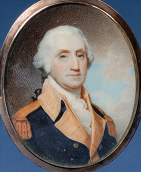 Miniature Portrait of Washington by Robert Field (1800)