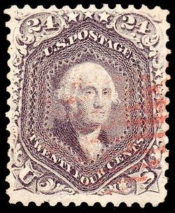 Washington,                                issue of 1862