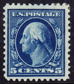 Washington-Franklin                                Issue of 1917