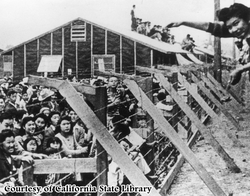 World War II post Pearl Harbor, Japanese-American Internment Camps - in the U.S.