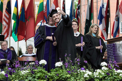 Rob at his graduation from Amherst College
