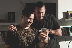 Rob with Ryan Blair serial entrepreneur