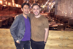 Rob with Leonard Kim, Forbes rated personal branding expert