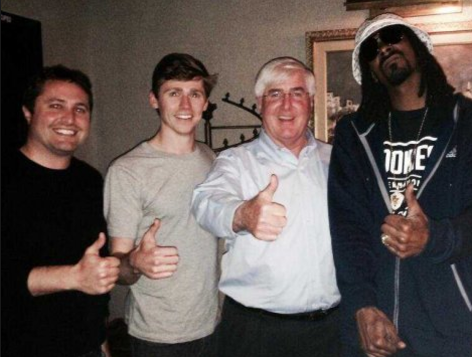 With Snoop Dogg​ and Ron Conway​