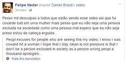 Apology ofFacebook