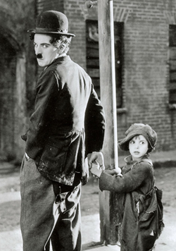 The Kid (1921), with Jackie Coogan, combined comedy with drama and was Chaplin's first film to exceed an hour.