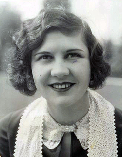 Lita Grey, Chaplin's second wife, two years after their bitter divorce