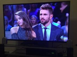 Vanessa Grimaldi andNick Viallafter the Final Rose; interview withChris Harrison