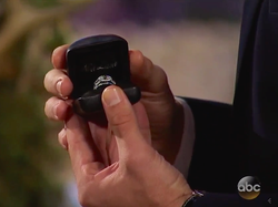 Nick Viall's engagement ring that he presented to Vanessa GrimaldionThe Bachelor (season 21)